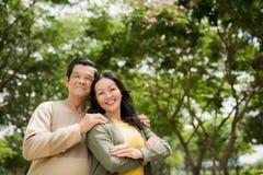 Couples aînés avec du charme Photo libre de droits