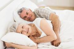 Couples aînés dans le bâti Photographie stock