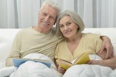 Couples aînés dans le bâti Photos stock