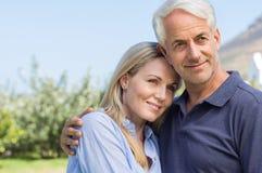 Couples aînés ensemble Images stock