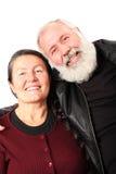Couples aînés frais Images libres de droits