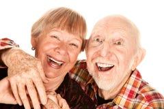 Couples aînés heureux Photos stock