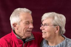 Couples aînés mûrs Photo libre de droits