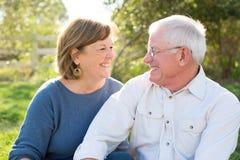 Couples aînés mûrs Images stock