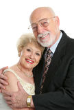 Couples aînés réussis dans l'amour Images stock
