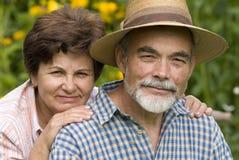 Couples aînés romantiques 2 Photos stock