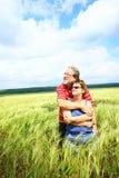 Couples aînés romantiques Photo libre de droits