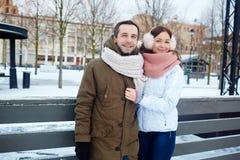Couples actifs photos libres de droits