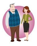 Couples adultes Photographie stock libre de droits