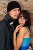 Couples affectueux 04 image libre de droits