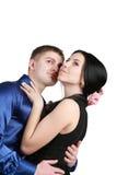 ) Couples affectueux Images libres de droits