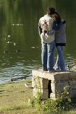 Couples affectueux photo stock