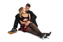 Couples affectueux Image stock