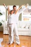 Couples affectueux Image libre de droits
