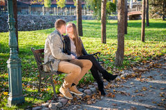 Couples affectueux Photographie stock