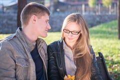 Couples affectueux photos stock