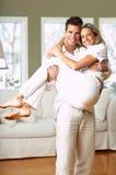 Couples affectueux Photo libre de droits