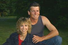 Couples affectueux Photos libres de droits