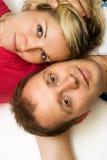 Couples affectueux attrayants Photos libres de droits