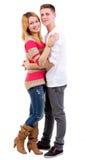 Couples affectueux d'amusement Image libre de droits