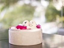Couples affectueux d'oeufs Images stock