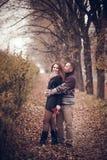 Couples affectueux dans l'amour Photo libre de droits