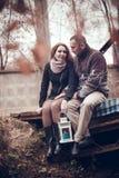 Couples affectueux dans l'amour Photographie stock