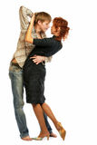 Couples affectueux de danse. Images stock