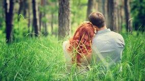Couples affectueux doux Photographie stock libre de droits