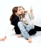 Couples affectueux gais Image libre de droits
