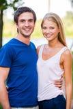 Couples affectueux heureux Images stock