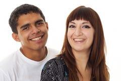 Couples affectueux heureux Image stock