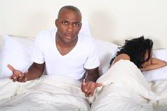 Couples africains d'Amrican dans le bâti images stock