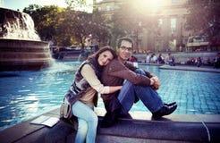 Couples aimés Images libres de droits