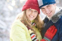 Couples amoureux Images libres de droits