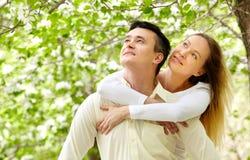 Couples amoureux Photos libres de droits