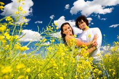 Couples amoureux Images stock