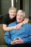 Couples aînés Photo stock