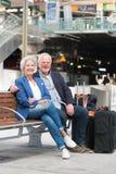 Couples aînés actifs Photographie stock