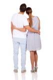 Couples arrières de vue images libres de droits