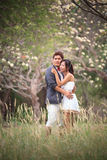 Couples of asian people in wedding suit Royalty Free Stock Images