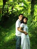 Couples asiatiques Photo libre de droits
