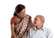 Couples asiatiques aînés Images stock