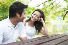 Couples asiatiques attrayants Images stock