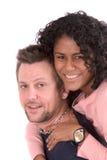 Couples assez divers Photos libres de droits