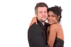 Couples assez divers Image libre de droits