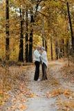 couples assez pluss âgé Photo stock