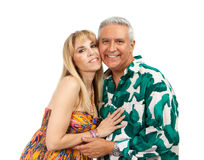 Couples attrayants Image libre de droits