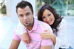 Couples attrayants dans l'amour Images libres de droits