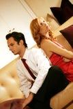 Couples attrayants et riches Images libres de droits